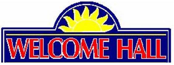 Welcome Hall Logo
