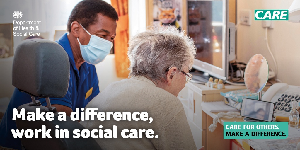 Work in Plymouth Adult Social Care Promotional Banner