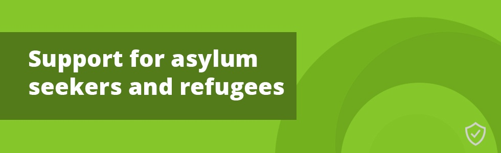 Asylum Seekers and Refugees Promotional Banner