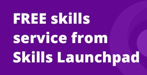 Skills Launchpad Promotional News Banner