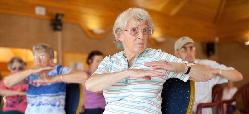 Age UK Plymouth People Dancing